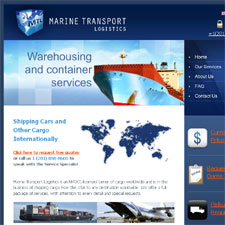 Web site, Identity and Marketing for Marine Transport Logistics